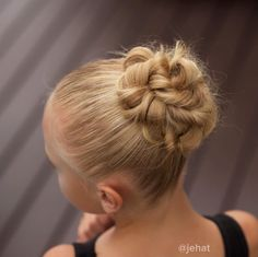 jehat hair — Oh how I love this gorgeous twisted ballet bun! ❤️...