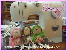 ARTE COM QUIANE - Paps e Moldes de Artesanato : Minha primeira maquina de costura está nas minhas mãos!!!!!