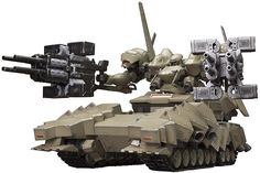 From the Armored Core V Variable Infinity series, the anticipated tank-bodied Matsukaze MDL.2 is here!