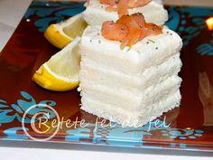 Aperitive cu somon afumat pentru masa de Revelion - Rețete Fel de Fel Cheesecake, Desserts, Tailgate Desserts, Deserts, Cheesecakes, Postres, Dessert, Cherry Cheesecake Shooters, Plated Desserts