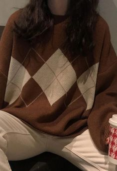 Indie Outfits, Teen Fashion Outfits, Retro Outfits, Vintage Outfits, Swaggy Outfits, Cute Casual Outfits, Modest Winter Outfits, Vest Outfits, Fall Winter Outfits