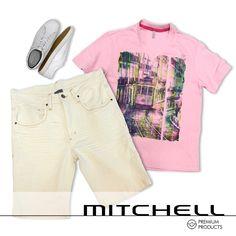 Aqui vc encontra o look completo para passar o calor do verão no estilo. #mitchellbr