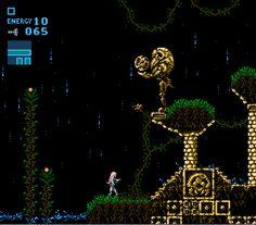 Indie Retro News: Metroid - Rogue Dawn - Unofficial NES prequel to the original Metroid game released! Classic Nes Games, Video Game Heaven, Pixel Life, Ascii Art, Fandom Games, Pixel Art Games, Samus Aran, Video Game Art, Indie Games