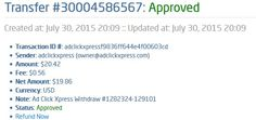 I WORK FROM HOME less than 10 minutes and I manage to cover my LOW SALARY INCOME. If you are a PASSIVE INCOME SEEKER, then AdClickXpress (Ad Click Xpress) is the best ONLINE OPPORTUNITY for you.