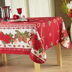 NAPPE DE TABLE Nappe anti-tache rectangle 150x240 cm - Célébra…