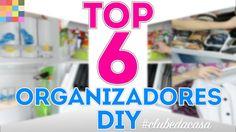 Top 6 dos Organizadores DIY  | #clubedacasa