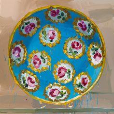 2�0�1�2� �-� �r�o�s�e�s� �o�n� �b�l�u�e� � - olie op doek - � �1�1�0�x�1�1�0�c�m