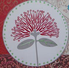 Flower Images, Flower Art, Hello March, Maori Designs, Nz Art, Kiwiana, Stone Art, Art Images, Scrapbook Paper