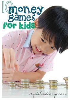10 DIY money games for kids