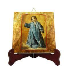 Catholic Art, The Good Catholic, Catholic Prayers, Catholic Gifts, Religious Gifts, Religious Icons, Religious Art, Christian Art, Tile Murals