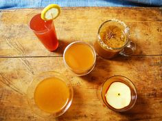 Food Network Kitchens came up with four delicious new ways to enjoy apple cider. #EasiestHolidayEver