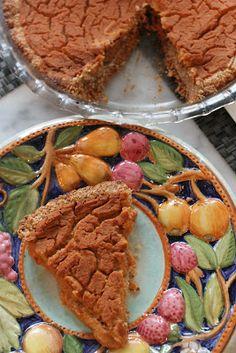 Sweet Potato Pie - a healthy spin on this scrumptious dessert <3