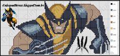 Wolverine pattern by Dinha Ponto Cruz