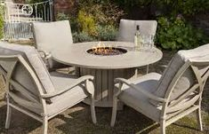 gel fuel fire pit out of wood spool - Google Search