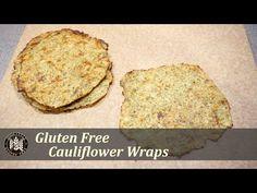 Cauliflower Tortilla Wraps   HomeStyle Gluten Free - YouTube