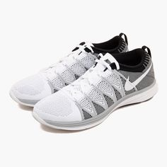Nike Flyknit Lunar2 White Wolf Grey