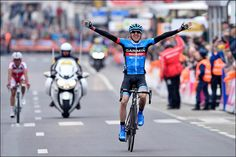 Great team work by the Garmin boys and the biggest win of Dan Martin's career at LBL. By Team Garmin-Sharp, flickr.com