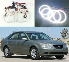 48.00$  Watch here - http://alib31.worldwells.pw/go.php?t=32372142192 - For Hyundai Sonata NF Transform 2008 2009 2010 Excellent angel eyes Ultrabright illumination smd led Angel Eyes Halo Ring kit 48.00$