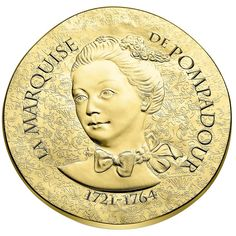 50 Euro Gold Madame de Pompadour PP
