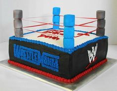 Wrestling Ring - Side View on Cake Central