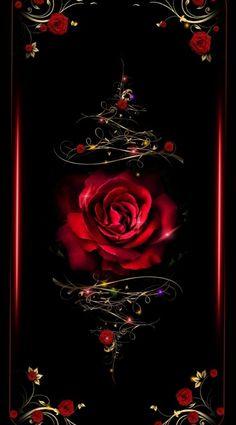 Neon Wallpaper, Cute Wallpaper Backgrounds, Pretty Wallpapers, Iphone Wallpaper, Rose Flower Wallpaper, Butterfly Wallpaper, Beautiful Rose Flowers, Rose Art, Cellphone Wallpaper