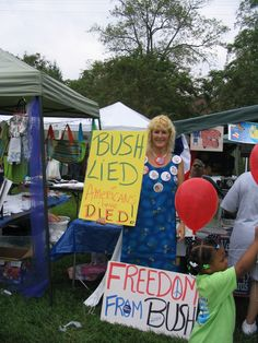 GW Bush, Worst President EVER. Kelly Jacobs participated in the Prairie Day Festival in West Point Mississippi, at the Democrat booth. The Republicans were so enraged, one dropped his trousers. Kelly took his bare bum picture then reported it to the police. Bush Lied