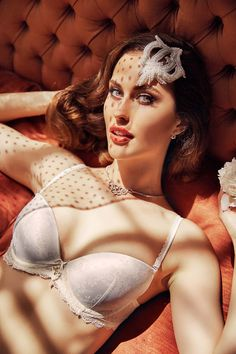 #lingerie #white #Anabel Arto