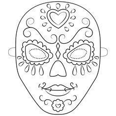 maschere di carnevale | disegni maschere di carnevale da