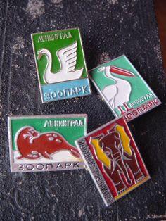 Soviet Zoo badges, USSR