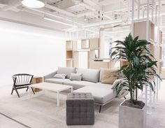 The new Instagram offices in San Francisco with STUA Costura sofas, a Gensler design to lounge and work! Furniture provided by Design Within Reach Contracts team. COSTURA: www.stua.com/design/costura