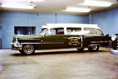 1956 Cadillac Miller-Meteor Third District Green Haven, MD Ambulance.