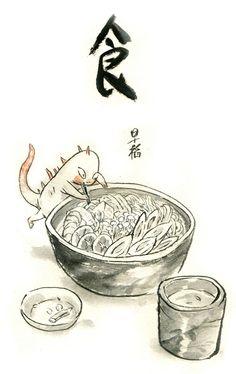 3年前的短篇《食》-早稻.野兽_漫画_涂鸦王国