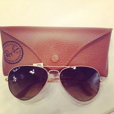 Matte Gold Ray Ban Aviators! $155.99! Shop with us through Facebook