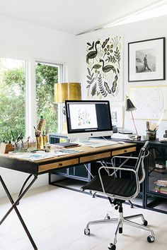 11 Home-Office Decorating Ideas That Will Make You Feel Like a CEO | MyDomaine