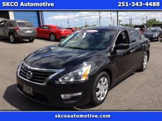 Used 2015 Nissan Altima 2.5 SV for Sale in Mobile AL 36608 SKCO Automotive