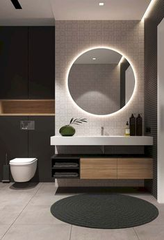 Examples Of Minimal Interior Design For Bathroom Decor 45 de. - Examples Of Minimal Interior Design For Bathroom Decor 45 design - Diy Bathroom, Bathroom Goals, Simple Bathroom, Modern Bathroom Design, Bathroom Interior Design, Modern Interior Design, Home Design, Bathroom Ideas, Bathroom Designs