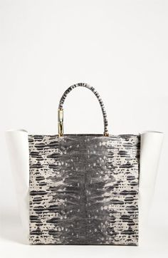 Lanvin 'Moon River' Leather Tote available at #Nordstrom