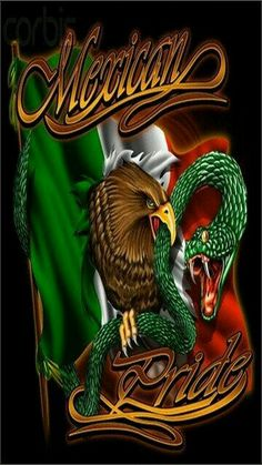 'Mexican Pride' Painting East Urban Home Size: cm H x 80 cm W x cm D, Format: Wrapped Canvas Arte Cholo, Cholo Art, Chicano Tattoos, Chicano Art, Chicano Studies, Mexican Flag Tattoos, Mexican American Flag, Native American, Arte Lowrider