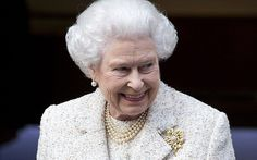Queen all smiles as she visits Duke of Edinburgh in hospital on 10 June 2013 to wish him a happy birthday - Telegraph