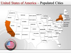 27 best interactive powerpoint maps of usa images on pinterest map
