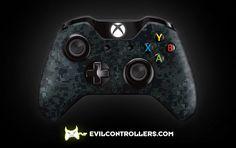 XboxOneController-NavyCamo   Flickr - custom xbox one controller