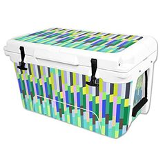 MightySkins Protective Vinyl Skin Decal Wrap for RTIC 45 qt Cooler cover sticker Fruit Stripes >>> You can get more details by clicking on the image.