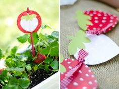 strawberry picnic party {One Charming Party}