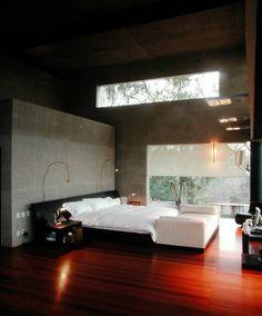 contemporary bedroom by Serrano Monjaraz Arquitectos
