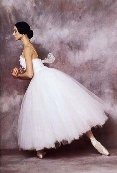 Ballerina Svetlana Lunkina.