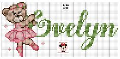 Alpha Patterns, Girl Names, Cross Stitch Designs, Beading Patterns, Cute Pictures, Alice, Kids Rugs, Fictional Characters, Ballet