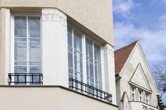 Jurkovičova vila na Lermontovovej ulici Bratislava, House Design, Mansions, House Styles, Home Decor, Decoration Home, Manor Houses, Room Decor, Villas