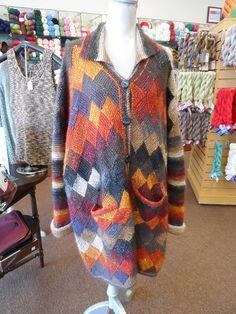 Ravelry: LindaGoone's Garter Stitch Entrelac Jacket
