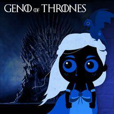 Geno Of Thrones ! The Blue is Coming ! C'est parti pour la nouvelle saison ! Alors heureux ? Vous avez vu le 1er épisode (et les autres pour les mauvaise personnes ^^) 