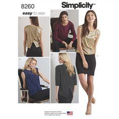 8260 - Tops | Vests | Jackets | Coats - Simplicity Patterns